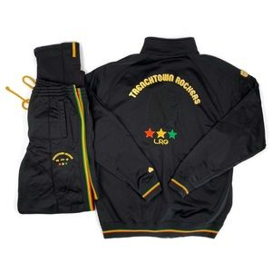 LRG Trenchtown Rockers Rasta Track Suit Set